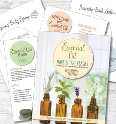 Everything you need to know to teach essential oil make and take classes easily and with confidence
