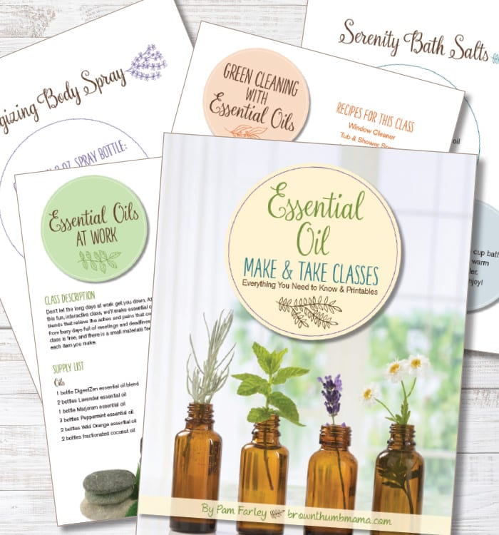 Breeze through your next essential oil make and take class with confidence. Learn everything for a great class--from invitations to pricing, room setup, recipes, and followup.