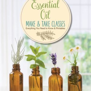 Essential oil make and take class book cover