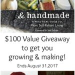 Homegrown and Handmade {Giveaway!}