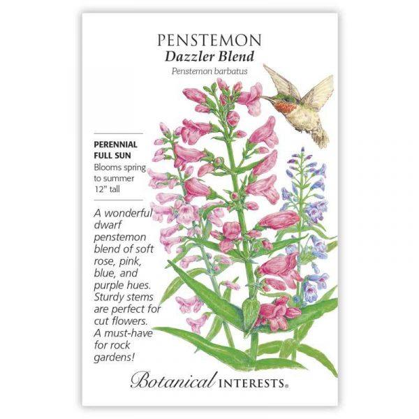 penstemon seed packet