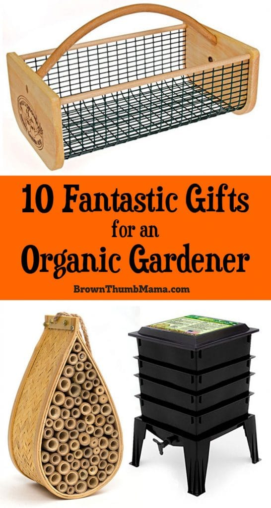 Gifts for an organic gardener should respect the natural ecosystem and tread lightly upon the earth. Here are 10 fantastic gifts for the organic gardeners in your life.