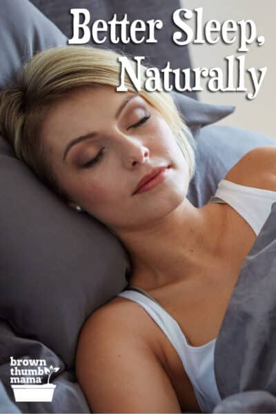 natural ways to improve your sleep