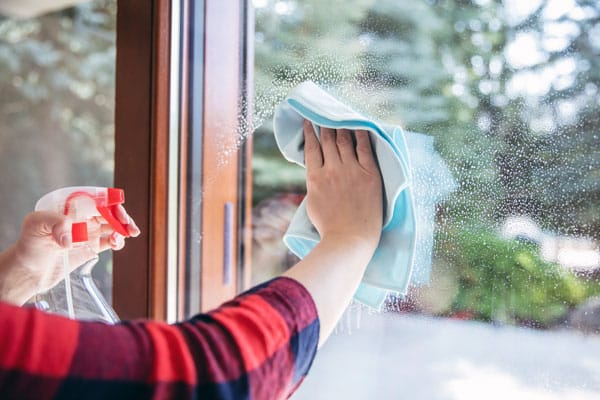 hand washing window