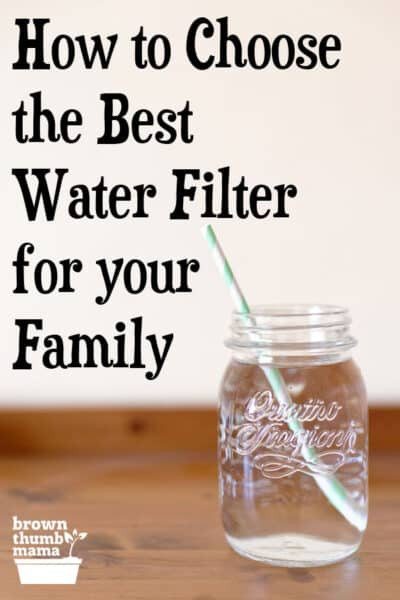 How do you choose the best water filter system for your family's needs? There's a big difference between a water filter and a water purifier, and believe me--you want a water purifier. #water #cleanwater #brita #pur #berkey