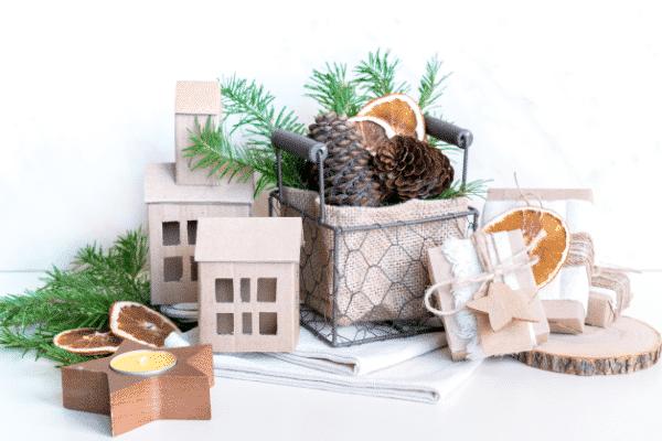 umweltfreundliche Weihnachtsdekoration