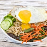 Egg & Vegetable Bibimbap