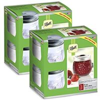 Ball Collection Elite 8 oz Regular Mouth Jam Jars