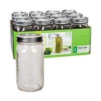 Ball Wide-Mouth Quart Jars, Set of 12