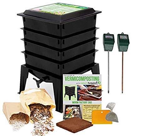 Worm Factory Composting Bin