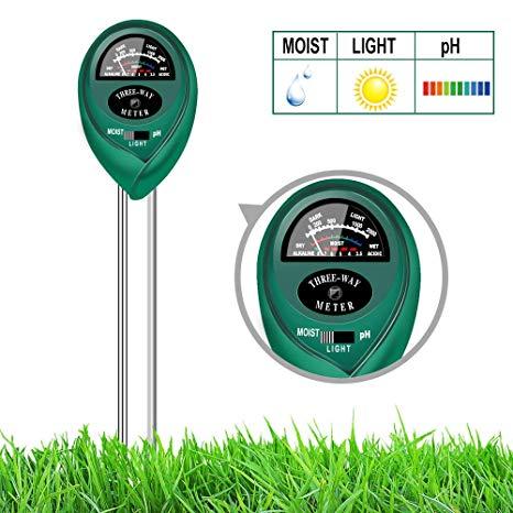 Soil Tester: pH, Moisture, Water Meter