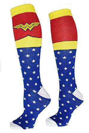 Wonder Woman Superhero Socks
