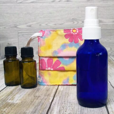 Fabric Mask Freshener Spray