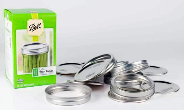 canning lids and bands