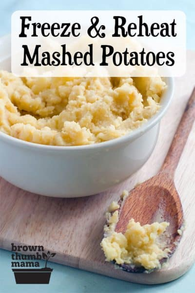 mashed potatoes in bowl with wooden spoon