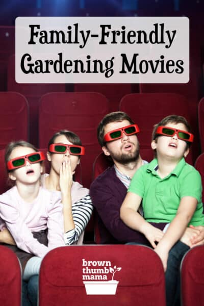 family watching movie in theater with 3D glasses